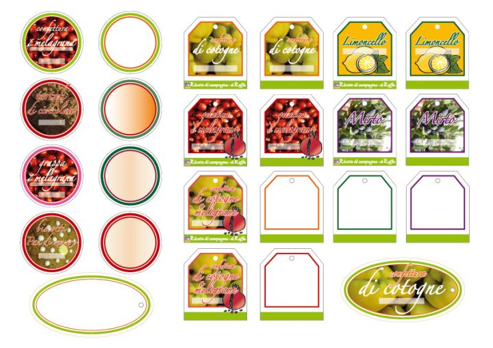 Etichette Per Regali Di Natale Da Stampare.Etichette Per Regali Home Made Ricette Di Campagna