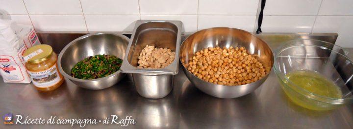 Torrone morbido fatto in casa dalle Marche - ingredienti