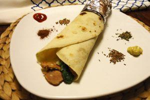 Kebab nostrano da fare in casa con verdure straginate