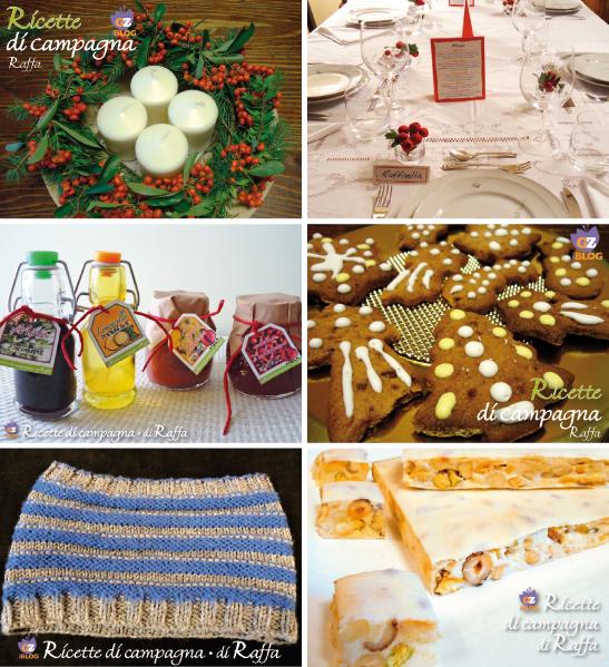 Raccolta di regali home made per Natale