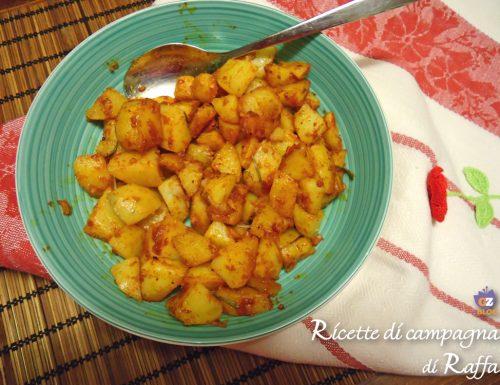 Patatas bravas in Italia
