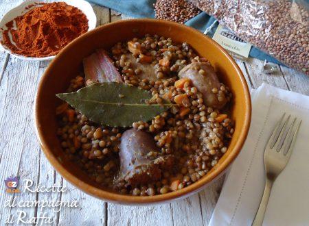 Lenticchie di Colfiorito alla spagnola