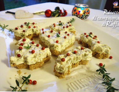 Cheesecake natalizia con le olive