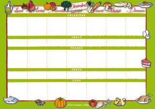 Men di dicembre per una settimana ricette di campagna for Ricette per tutti i giorni della settimana