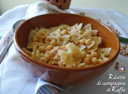 Pasta e ceci secchi – cremosa e veloce