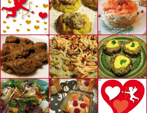 Tre menù per San Valentino