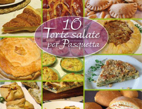 10 Torte salate per Pasquetta
