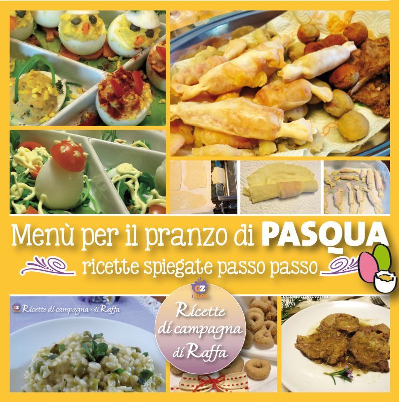 Menù per il pranzo di Pasqua