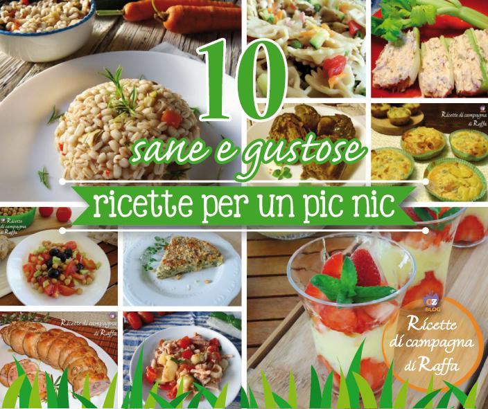 10 ricette per un pic nic