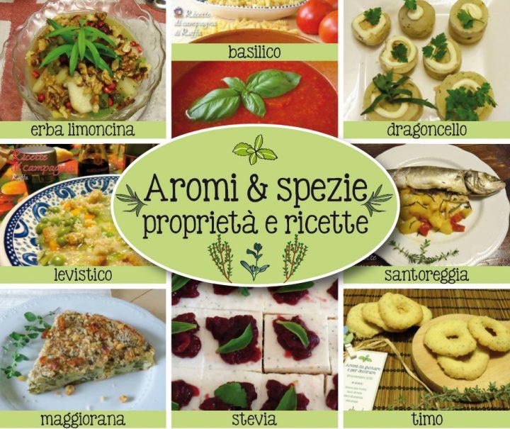 aromi & spezie - erbe aromatiche proprietà e ricette
