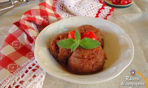 Sorbetto di ciliegie bianche e rosse senza gelatiera
