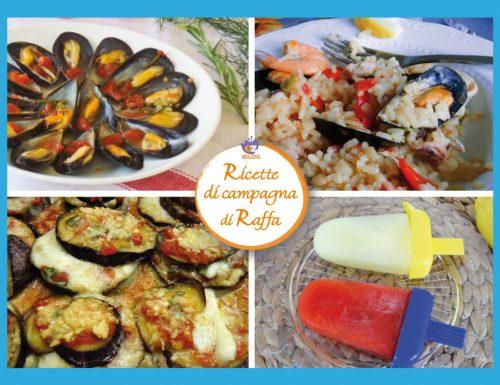 Raccolta di ricette per l'estate