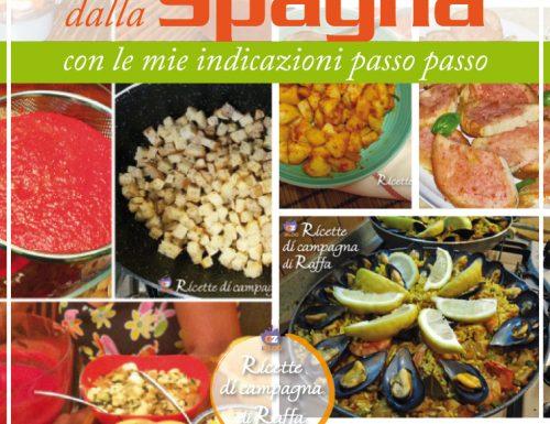 Tutte le mie ricette dalla Spagna