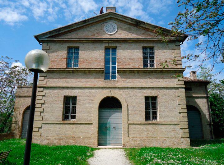 Villa Favorita story ora sede ISTAO ex Villa Ricotti - annesso colonico