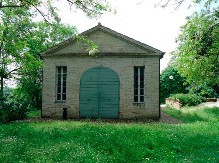 Villa Favorita story ora sede ISTAO ex Villa Ricotti - limonaia