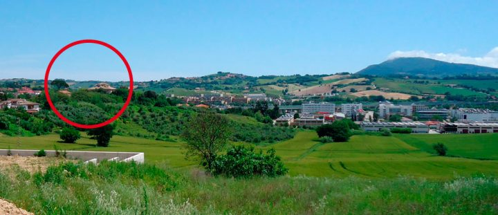 Villa Favorita story ora sede ISTAO ex Villa Ricotti - panorama