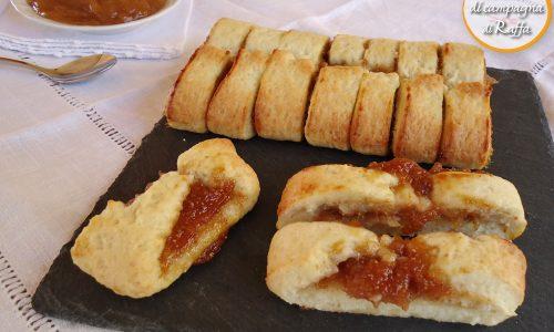 Biscotti con confettura di fichi senza zucchero