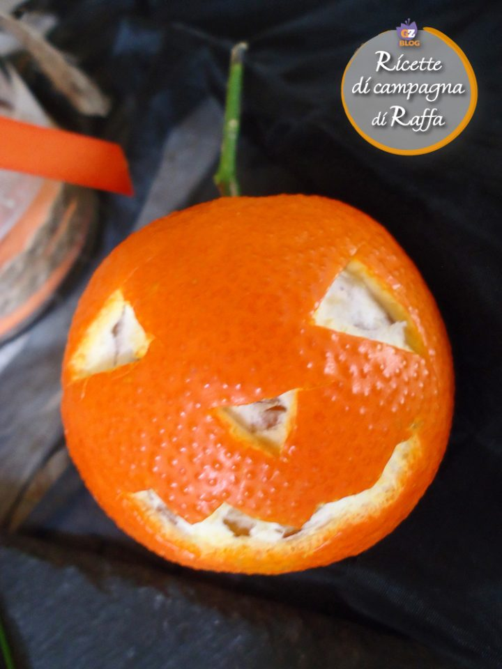 Aperifesta di Halloween - clementina zucchetta