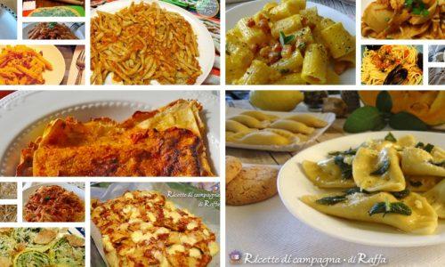 La pasta: le mie ricette preferite
