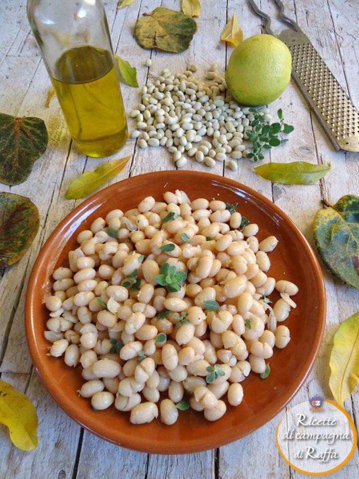 fagioli solfì per San Martino