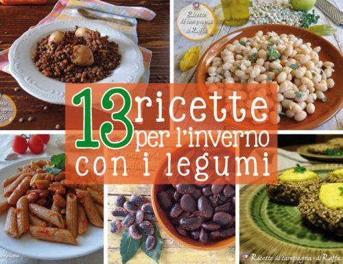 13 ricette per l'inverno con i legumi