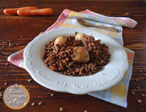 Seppie con lenticchie… consigliato e (ap)provato!