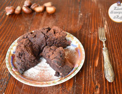 Tortino di castagne al cacao