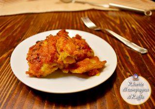 Gobbi alla parmigiana - piatto pronto