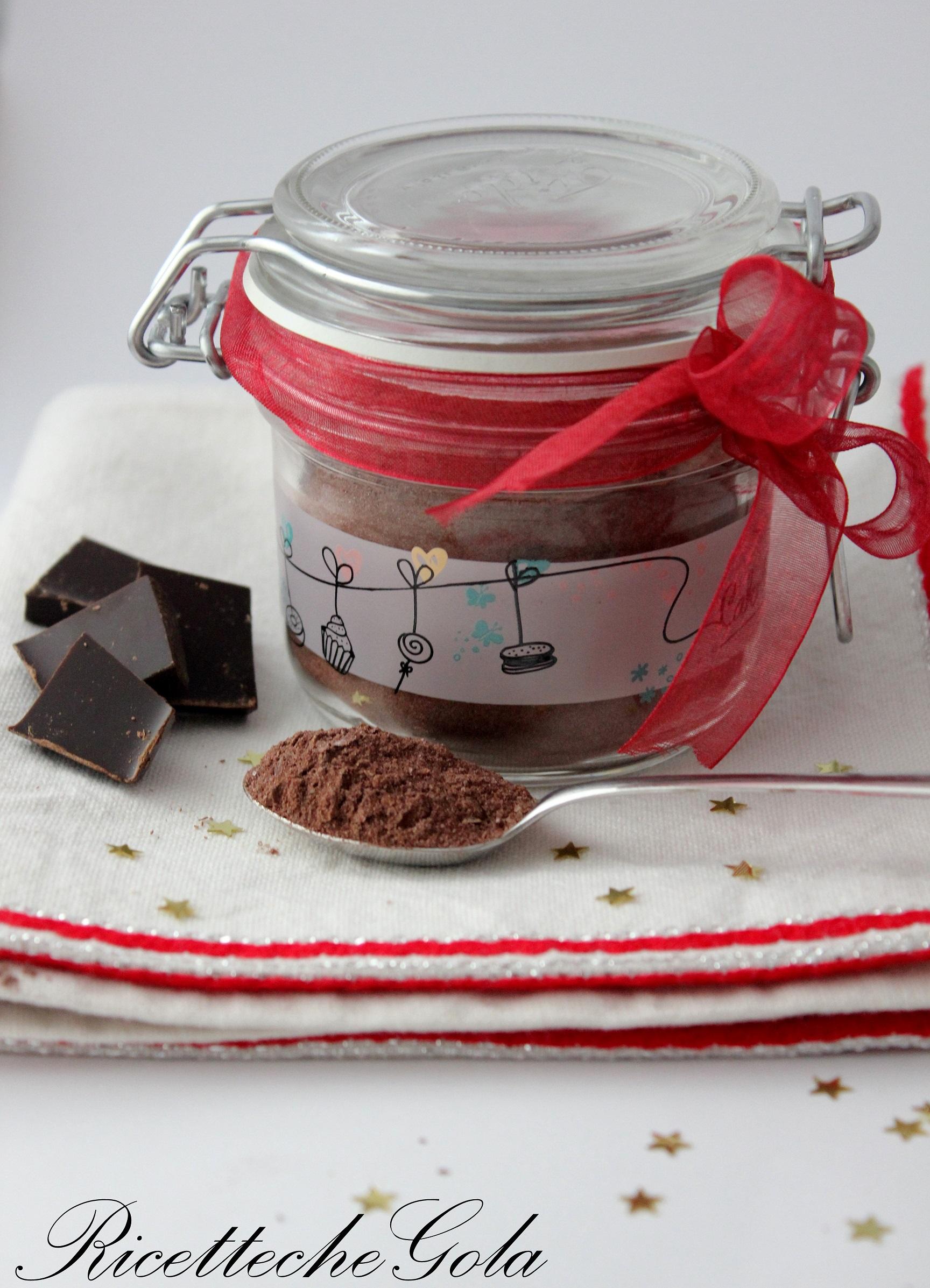 Preparato per cioccolata calda!