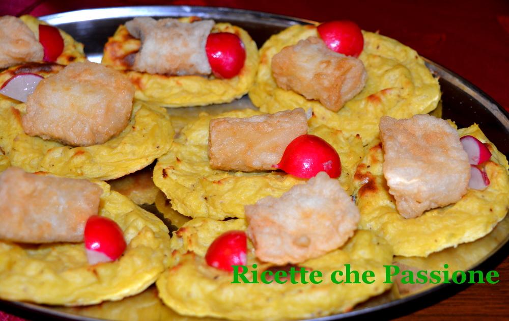Baccalà Fritto in Barchette di Patate