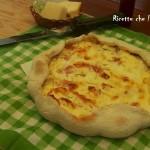 Torta Salata Cotto e Ricotta
