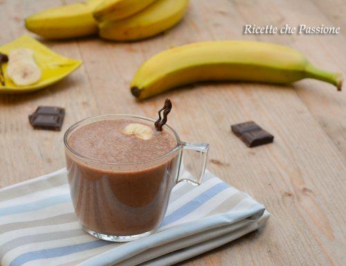 Frullato Banana e Nutella con Yogurt