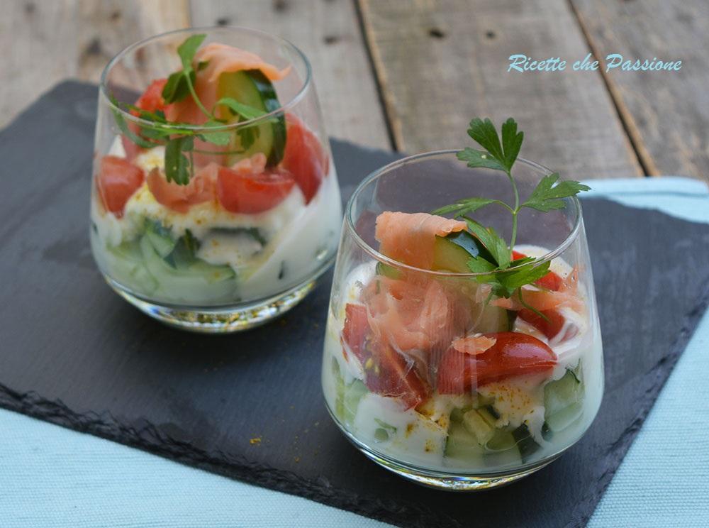 Bicchierini di salmone ricette che passione for Salmone ricette