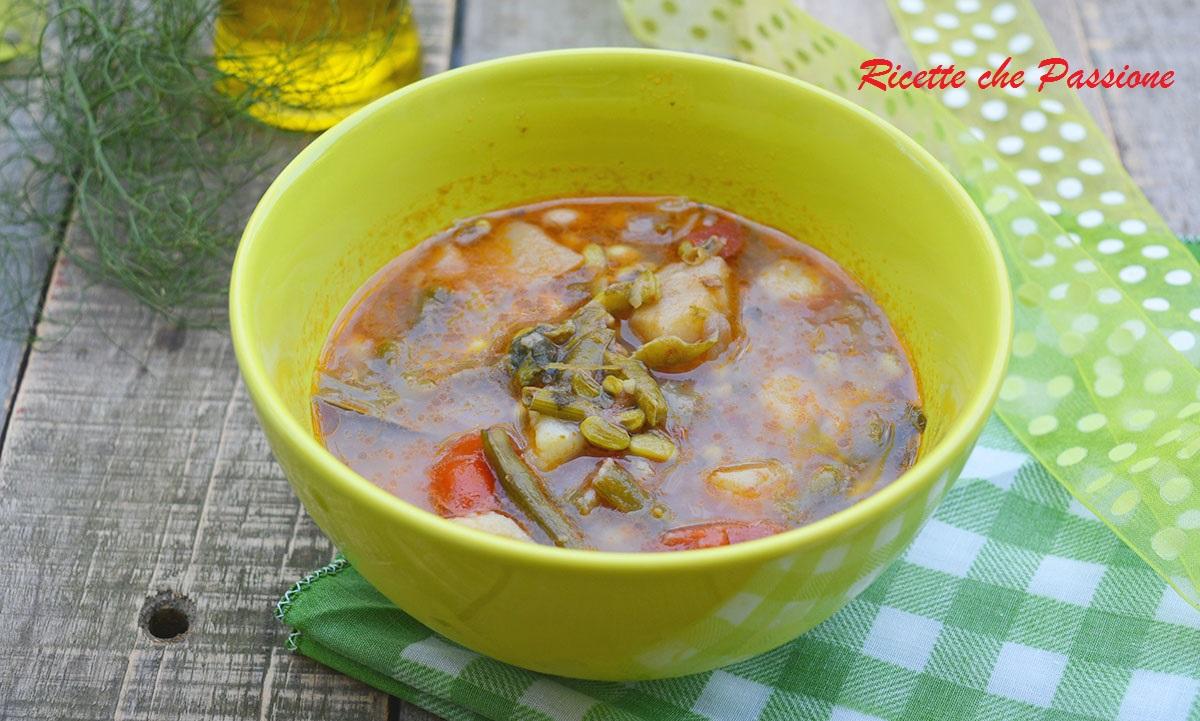 Zuppa di Fagioli Minuti