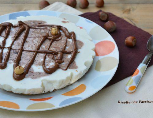 Cheesecake allo Yogurt con Nutella