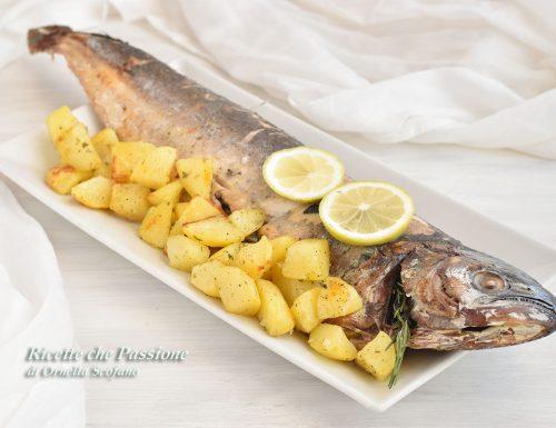 Pesce al Forno con Patate – con Pesce Lampuga