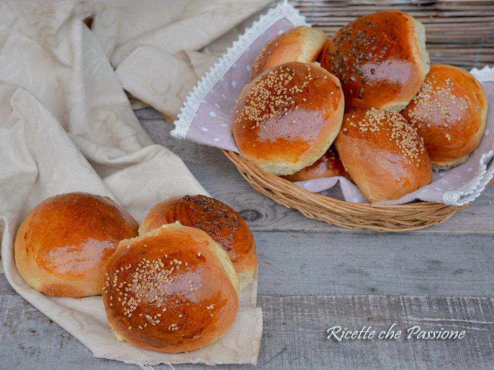 Ricetta Hamburger Panino.Panini Per Hamburger Fatti In Casa Ricette Che Passione