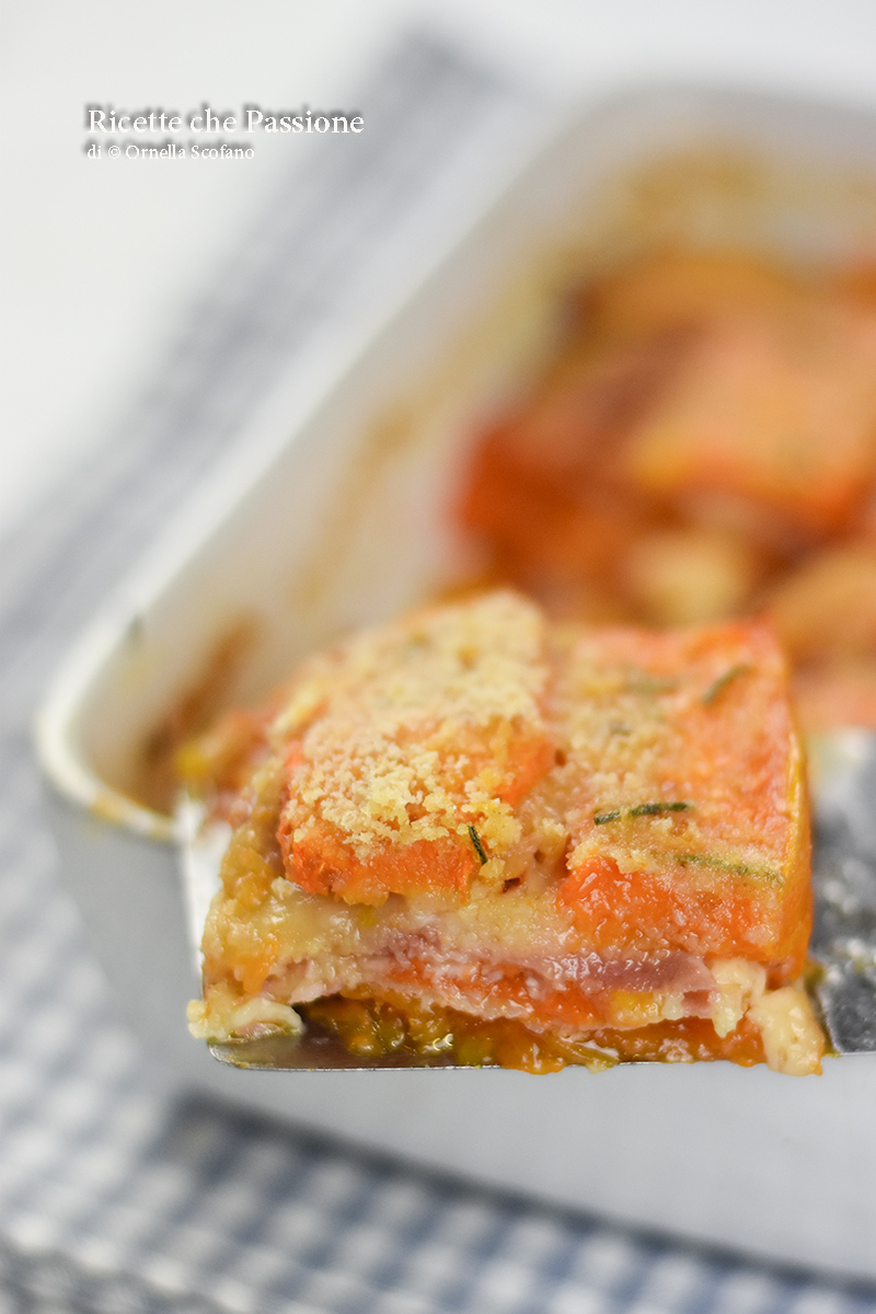 parmigiana di zucca ricetta saporita