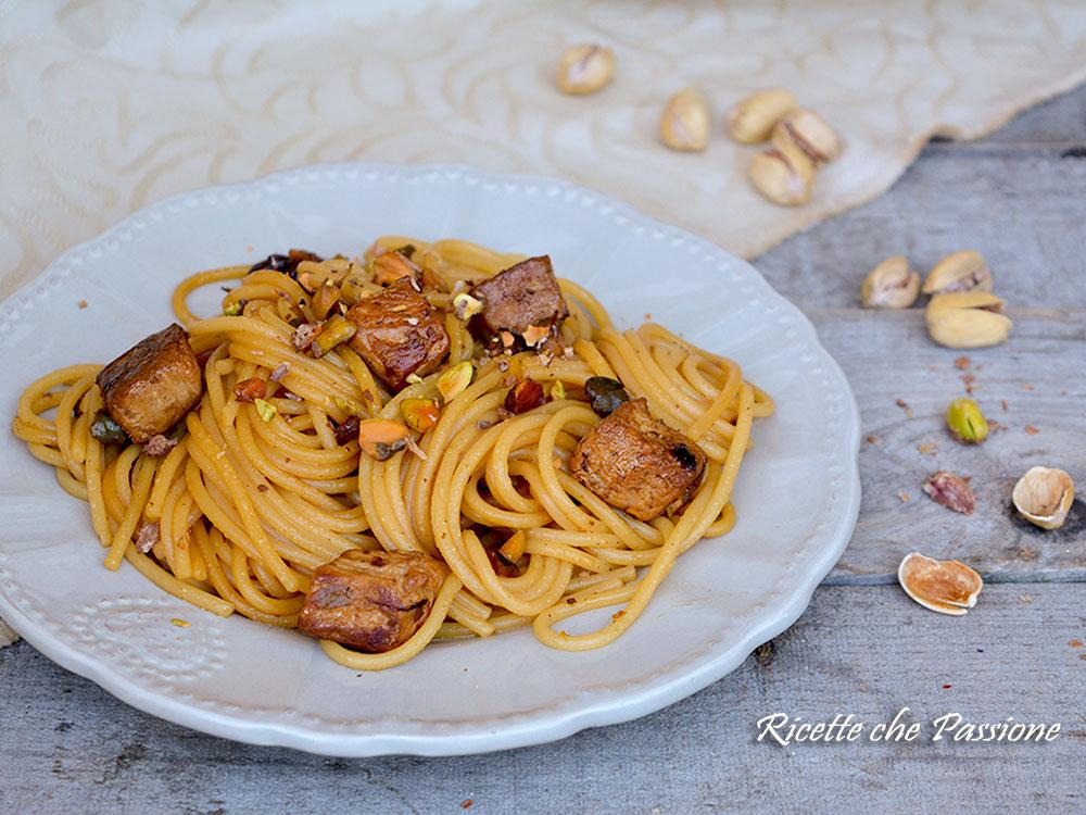 Spaghetti Tonno Fresco e Pistacchi