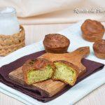 Muffin salati allo yogurt con broccoli