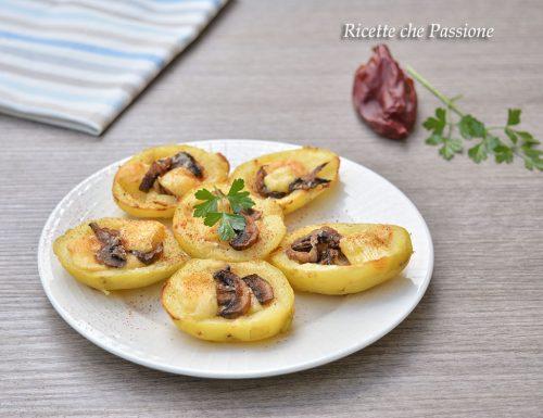 Barchette di patate ai funghi all paprika