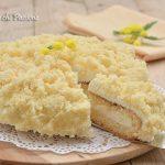 Torta Mimosa con 1 solo pan di spagna