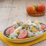 Insalata di riso al tonno e uova sode