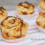 Rose di Sfoglia Salate con Bacon e Zucchine