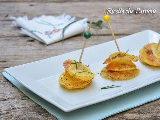 patate con salmone affumicato al forno