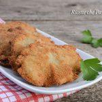 Cotolette di pleurotus fritte o al forno
