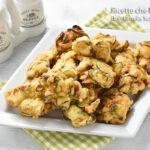 Frittelle di zucchine ricetta calabrese