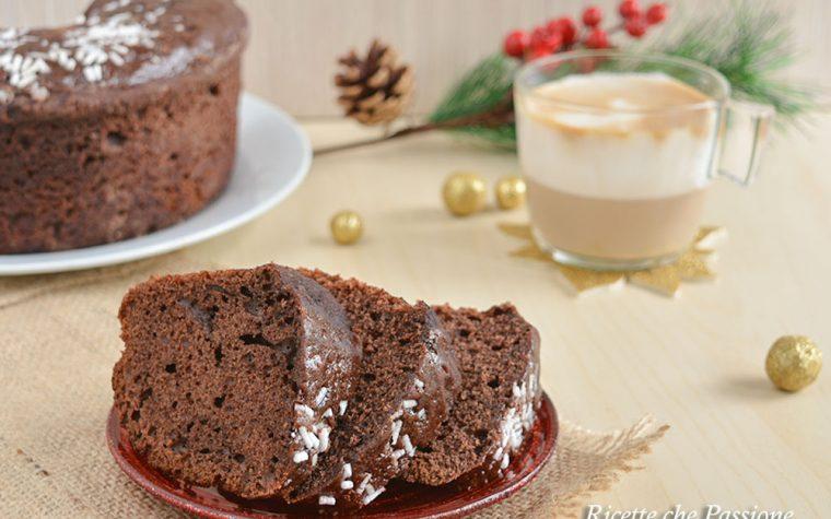 Ciambellone al cioccolato nel fornetto versilia