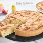 Pastiera Napoletana tradizionale dolce  di Pasqua