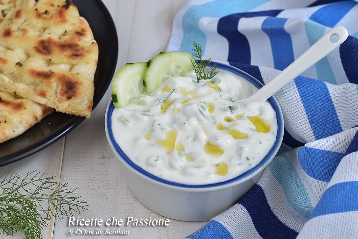 Tzatziki Ricetta Con Preparato.Salsa Tzatziki Ricetta Greca Ricette Che Passione